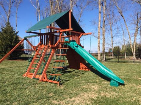 swing set installation included swingsets and playsets nashville tn olympian peak 1