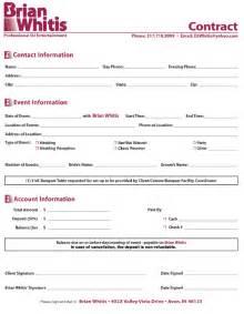 disc jockey contract template mobile dj contract template ebook database