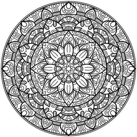circle mandala coloring page best 25 circle mandala ideas on pinterest mandala