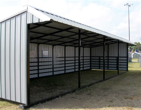 Cattle Sheds For Sale by Sturdi Bilt Steel Framed Livestock Shelter