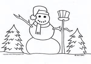 Gallery images and information easy winter drawings