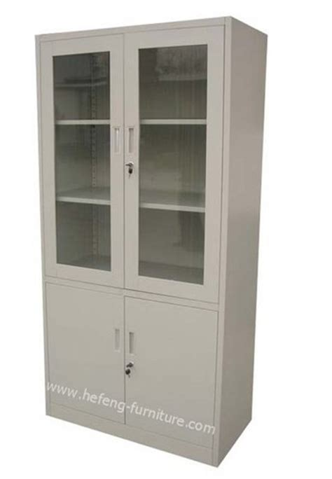 Storage Cabinet Glass Doors Storage Cabinet With Glass Doors Home Furniture Design