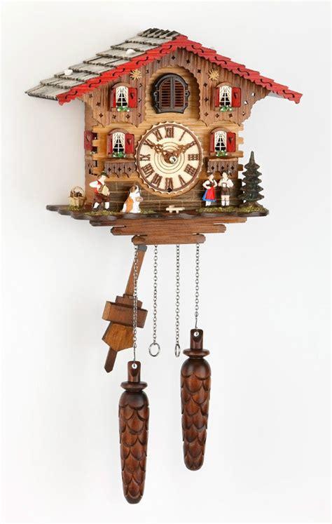 clock made of clocks beautiful german made cuckoo clock alp chalet brand new