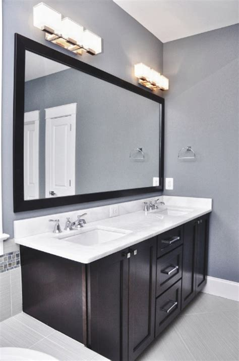 light over mirror in bathroom bahtroom pastel wall paint for bathroom with cool chrome