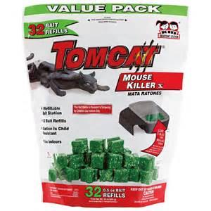 tomcat mouse killer refillable bait station 32 count