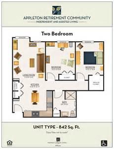floor plans appleton retirement communityappleton small retirement house floor plans cute small ranch house