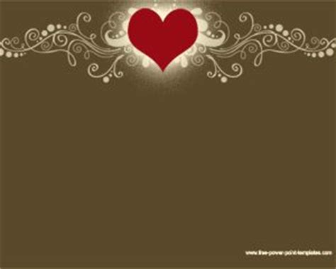 heart design for powerpoint cool heart powerpoint design