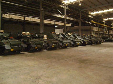 Tank Shed by Footage From A Tank Shed An Array Of