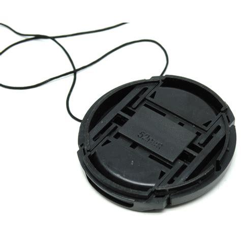 Lens Nikon 52mm lens cap nikon 52mm dengan logo black jakartanotebook