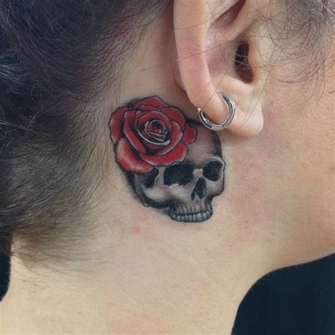 tattoo behind your ear pain 35 unusual behind the ear tattoos