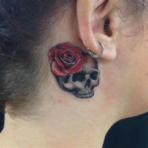 35 unusual behind the ear tattoos