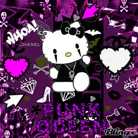 wallpaper hello kitty punk punk hello kitty backgrounds www pixshark com images
