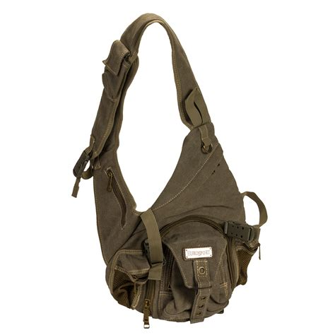 Sling Bag Kanvas 1 eurosport b724 olive canvas crossbody sling backpack