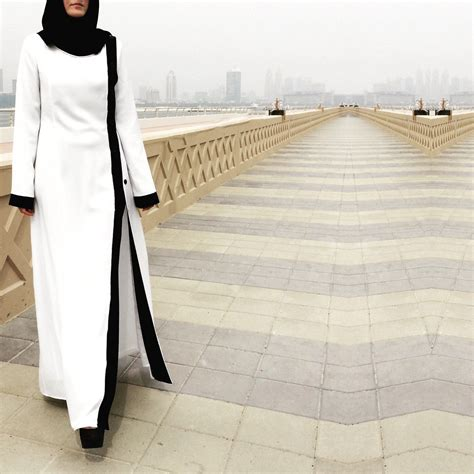 Pearl Abaya Dress by Pearl Abaya White Abaya Plus Size Abaya Abaya With