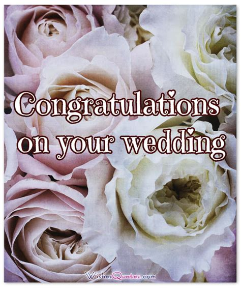Wedding Congratulations On by Congratulations On Your Wedding Wishes Www Imgkid