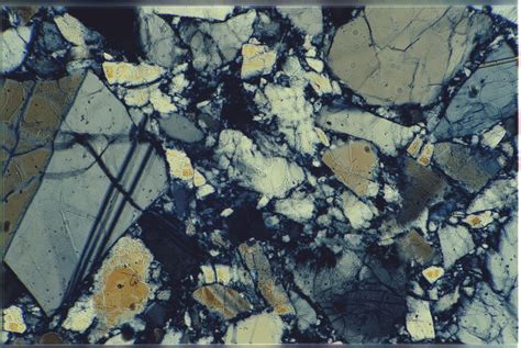 Labradorite Thin Section by Not Made Of Cheese Definitely Nor Labradorite Probably Lunar Anorthosite