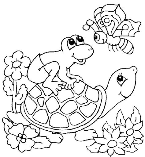 Origami N Stuff 4 Coloring turtle coloring page animals town animal color sheets