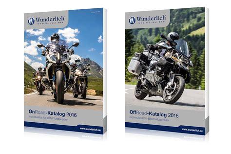Motorrad News Katalog 2016 by Wunderlich Stellt Bmw Zubeh 246 R Katalog 2016 Vor Motorrad News