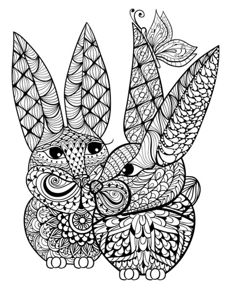 advanced butterfly coloring pages bunnies and a butterfly advanced coloring