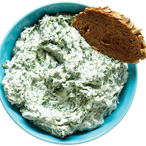 healthy snacks spinach and parmesan dip 20