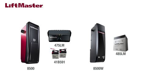 Change The Battery Backup In A Liftmaster 8500 And 8500w Liftmaster Garage Door Opener Change Battery