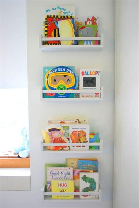 Nursery Display Racks by Cozy Creative Ways To Display Books In The Nursery