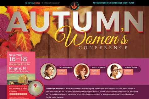 conference flyer template men s conference flyer template