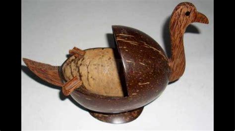 teknik kolase dari as kelapa viva kerajinan tangan dari tempurung kelapa dan cara membuatnya