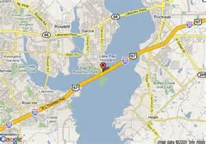 rowlett map map of comfort suites lake hubbard rowlett