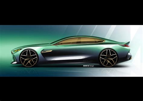 8 Series Sketches by Bmw M8 Gran Coup 233 Concept Luz Verde A La M 225 Xima Exclusividad