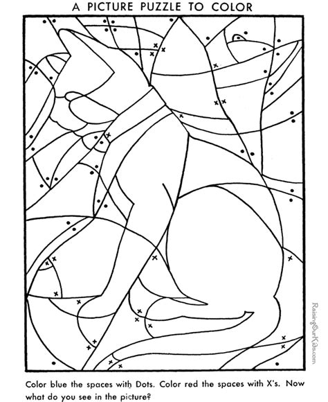 free coloring pages of hidden puzzle pictures