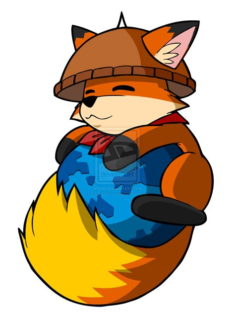 mozilla cute themes alab the philippine firefox mascot 2 by diobrando on