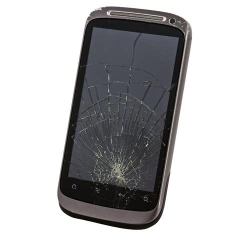 cracked broken screen mobile phone repair