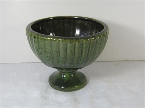 Haeger Planter by Vintage Haeger Planter Vase Green By Lavendergardencottag
