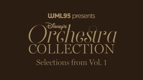 The Vol 1 selections from disney s orchestra collection vol 1