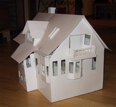 How To Make 3d Models Out Of Paper - building architectural models 3d house models
