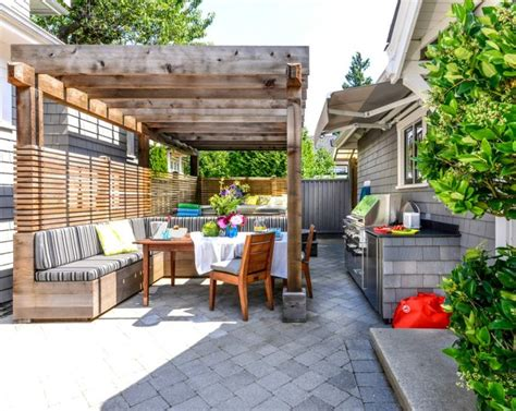 outdoor eating area outdoor pergola containing eating area and jacuzzi