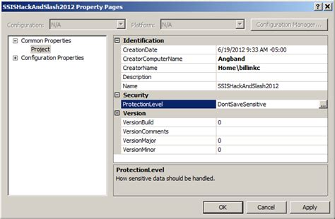 visual studio 2012 ssis project template visual studio 2008 how to change the default package