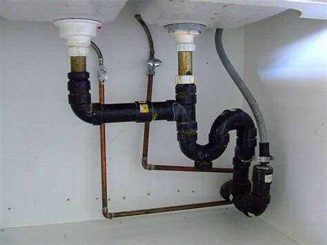 kitchen sink plumbing kitchen drain pipes kitchen design photos