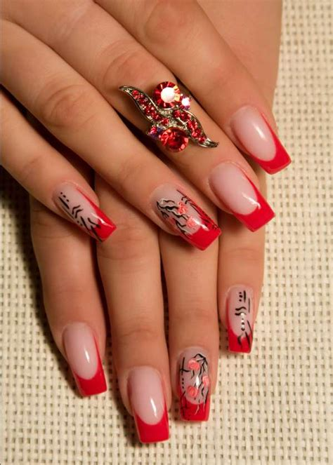 nail design tips home modele de unghii rosii yve ro