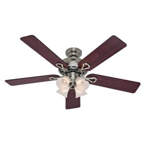 Augusta Ceiling Fan by Augusta Ii 52 In Antique Pewter Indoor Ceiling Fan 27553