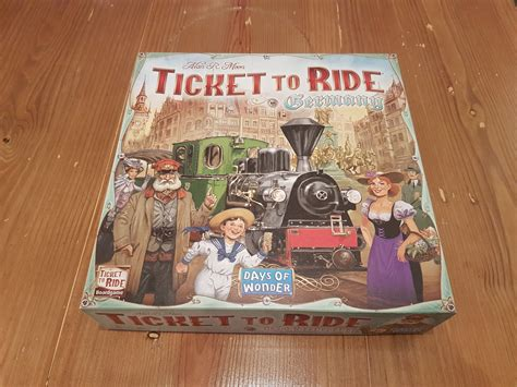 Ticket To Ride Germany Original Board ticket to ride germany review a wunderbar experience