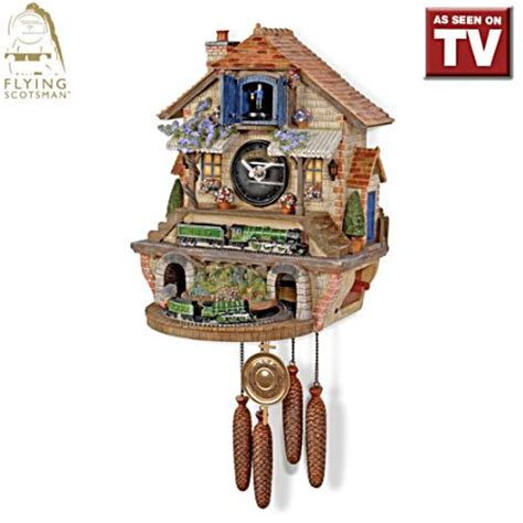 yorkie cuckoo clock officially licensed flying scotsman wall cuckoo clock flying scotsman memories