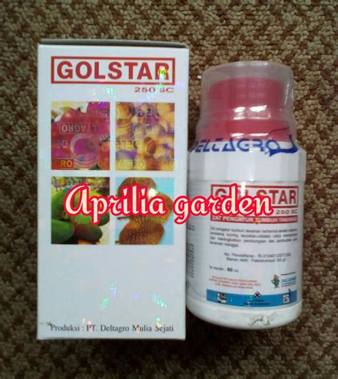Gaviota Pupuk Anggrek perangsang buah golstar 250sc aprilia garden