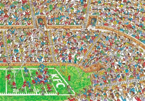 where s how our brain finds waldo out of my gord