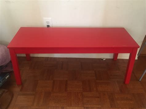 sigurd bench ikea letgo ikea sigurd bench red in castle point nj