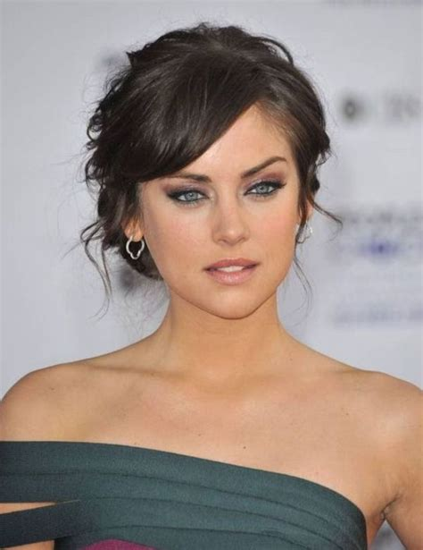 16 pretty and chic updos picture of chic and pretty wedding hairstyles with bangs