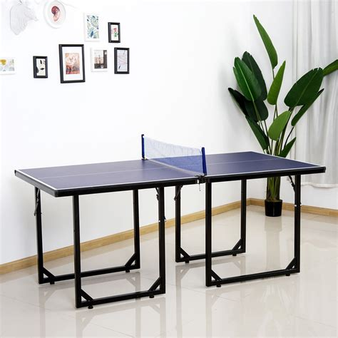 Meja Foosball 100 Ping Pong Table Size Foldable Midsize Table Tennis