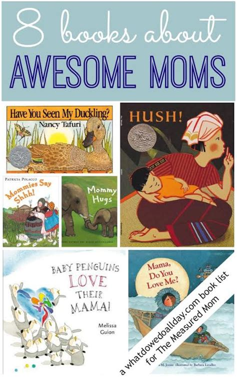 mothers day picture books books about