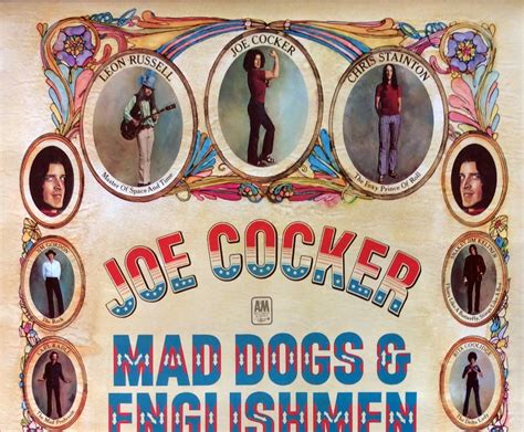 mad dogs and englishmen joe cocker 1970 mad dogs englishmen promo poster